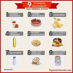 Muchos alimentos son promovidos como saludables cuando en realidad no son más que comida chatarra perniciosa.