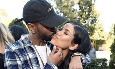 Big Sean gave his queen, Jhené Aiko, a big shoutout on her birthday. Big Sean and Jhene Aiko have both been through a rough patch in their Jhene Aiko, Detroit Rappers, Big Sean And Jhene, Cute Couple Pictures, Couple Photos, Bae, Cat Valentine Victorious, Ariana Grande Facts, 32 Birthday