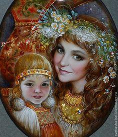 Мобильный LiveInternet Светлана Беловодова - художница лаковой миниатюрной живописи, творящая сказку. | Felitsata - Дневник Felitsata |