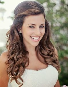 Wedding Hairstyles Half Up Half Down : Top 10 Gorgeous Bridal Hairstyles  For Long Hair