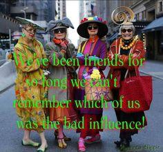 Senior Fashionistas!
