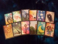The Moonshadow Lenormand card deck by AlyZen by AlyZenMoonshadow