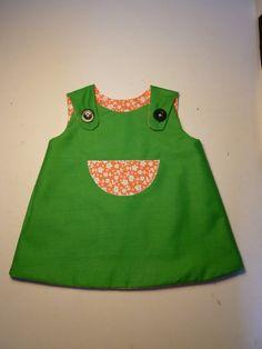3/3 Vestidet Reversible - Reversible Dress - FROG - by MonCreacionS