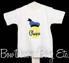 Donald Duck Initial Shirt