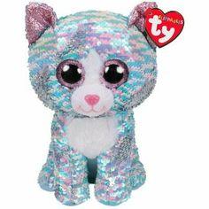 TY Beanie Boos DAFFODIL the Rainbow Lamb Glitter Eyes - MWMT Medium 9 inch