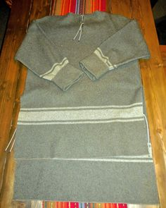 100% Wool Army Blanket = Awesome Hunting Shirt! Here's How to Make One...