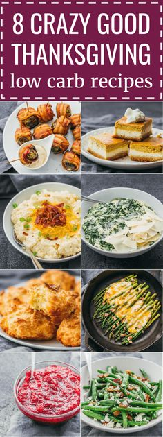 Best low carb & keto recipes for your Thanksgiving holiday menu, including appetizers, sides, desserts, and more. keto / low carb / diet / atkins / induction / meal / recipes / easy / dinner / lunch / food / party / healthy / gluten free / paleo / ideas / dishes / treats / kids / snacks / green beans / vegetables / family / potluck #thanksgiving #lowcarb #ketodiet