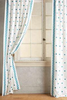 Hallina Diamonds Curtain