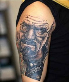 See More 20 Scarily Accurate Walter White Tattoos