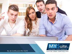 FACTURACIÓN ELECTRÓNICA. Si es la primera vez que va a facturar y no sabe por dónde empezar, no se preocupe, en MYSuite contamos con un equipo capacitado para orientar y guiarle paso a paso en todos sus trámites. Si desea conocer más sobre nosotros y el trabajo que realizamos, le invitamos a comunicarse al teléfono 01 (55) 1208-4940 o puede visitar nuestra página en internet http://www.mysuitemex.com/. #MYSuite