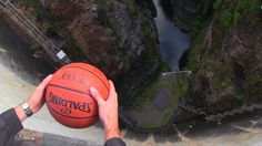 Here's What Happens When You Give A Basketball Some Backspin... And Drop It #science #interesting #basketball