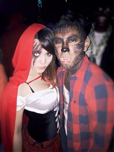 little red riding hood wolf makeup