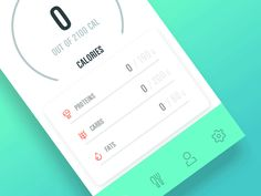 Calorie counter v2 by Michal Juricek
