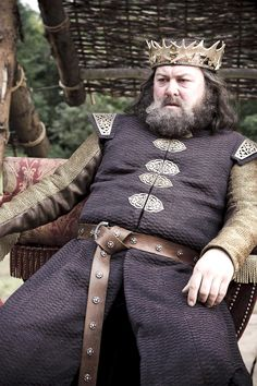 (King) Robert Baratheon. Claimed the Iron Throne after defeating the Targaryen's in war.