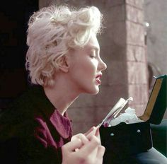 Marilyn photographed by Milton Greene 1956