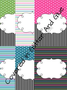 I can make these binder covers!