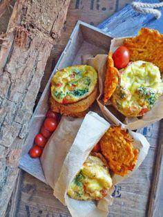 Par kiwi-forme.net ; Minis frittatas et rostis de patates douces au four  (  Sans gluten )