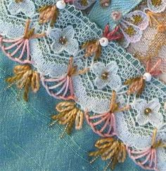 I ❤ embroidery . I stack and mix stitches constantly, add floral motifs to… Silk Ribbon Embroidery, Embroidery Stitches, Embroidery Patterns, Hand Embroidery, Machine Embroidery, Crazy Quilt Stitches, Crazy Quilt Blocks, Crazy Quilting, Paper Piecing