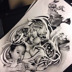 Working on this finishing this up! Loving the outcome! Thanks for looking #stone #cherub #angel #babies #sculpture #realism #realistic #portrait #detail #draw #drawing #art #artist #artfido #arts_help #artoftheday #art_empire #pencil #work #wip #WorldofArtists #worldofpencils #graphite #tattoo #spooky #nightshift
