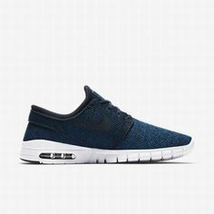 Nike SB Stefan Janoski Max Skateboarding Shoes Mens 9 Industrial Blue  631303 444