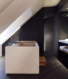 Hotel de Nell (Paris, France) | Design Hotels™ | bathrooms | Pinterest