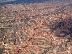 Aerial View of Canyonlands National Park, Utah