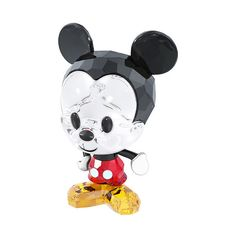 Swarovski Disney - Cuties Mickey Mouse (€89) ❤ liked on Polyvore featuring home, home decor, disney, other, decor, fillers, disney home decor, black home decor, mickey mouse home decor and crystal home decor