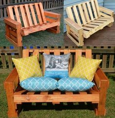 Pallet furniture looks really awesome when decorated in outdoor space like your patio, garden or back yard. Pallets serve as the best material to craft an amazing piece of furniture for your garden that is cost effective and durable also. You can also paint the pallets into any color you like or either you can retain the natural look of the pallets.