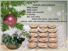Christmas Candy, Christmas Baking, Christmas Cookies, Xmas, Czech Recipes, Sweet Tooth, Food And Drink, Place Card Holders, Sweets