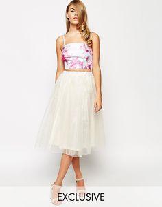 True Violet | True Violet Full Prom Tulle Skirt at ASOS
