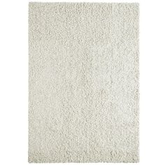 White Comfort Shag 8 Ft. x 10 Ft. Area Rug
