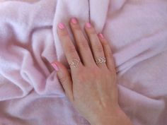 dress in sparkles: sweetheart rings