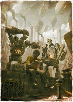 Antologia Steampunk - Book Cover (1)by FlavioGreco