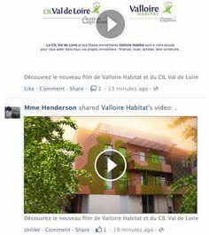 Découvrez le nouveau film de Valloire Habitat et du CIL Val de Loire
