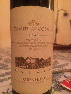 Giuseppe Cortese - Barbaresco Rabaja 2003