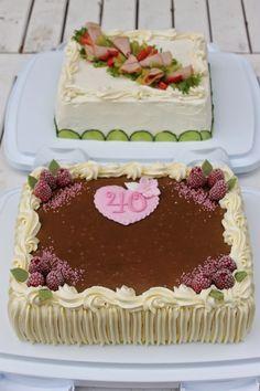 Tarun Taikakakut Plain Cake, Vanilla Cake, Cake Decorating, Desserts, Food, Decorating Cakes, Tailgate Desserts, Deserts, Essen