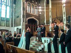 www.WithClassLLC.com - Wedding Ceremony Venue: UTC's Patten Chapel - Chattanooga, TN   Wedding Reception Venue: The Church on Main - Chattanooga, TN  - Lucas and Rachel Siqueira 7/17/16 w/ DJ Mark