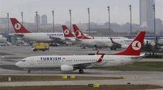 Έκτακτη προσγείωση για αεροπλάνο των Τουρκικών Αερογραμμών