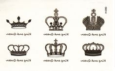 0.16$ (Buy here: http://alipromo.com/redirect/product/olggsvsyvirrjo72hvdqvl2ak2td7iz7/32349767263/en ) hot sale  crown Temporary Tattoo tatoos simulation alphabetical waterproof men and women tattoo stickers to cover  scar tattoo  for just 0.16$
