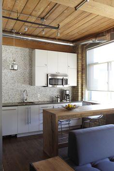 studio kitchen - after reno. photo by the fabulous kristin sjaarda!