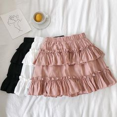 Crop Top Outfits, Girly Outfits, Cute Casual Outfits, Skirt Outfits, Chic Outfits, Summer Outfits, Fashion Outfits, Dressy Jumpsuit Wedding, Jumpsuit Dressy
