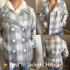 ❗️Final Price‼️get it before you regret it Because color just makes you Happy Beautiful Pea Coat great light color pattern  don't miss out  beautifully tailored to define your waist  you don't have to be dark and bulky in the cold any more  ✅ will bundle  ✅ all reasonable offers will be considered  ✅ No Trading  Poshmark rules only‼️ Measurements taken laying flat                            Ⓜ️chest 22                                                                             Ⓜlength 25 1/2…