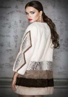 Пальто из норки (105 фото): с отделкой, с норковым воротником, с английским воротником, на подкладе, комбинированное, трансформер
