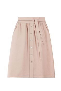 No. 6 - Blush Parson Skirt | BONA DRAG