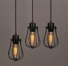 44 best cheap pendant lights images on pinterest cheap pendant vintage light bulb retro industrial edison 1 light metal shade ceiling pendant lamp fixture with bulb aloadofball Choice Image