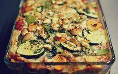 vegetarisk lasagne med Oatly iMat havregrädde