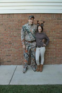Deer and Hunter costumes