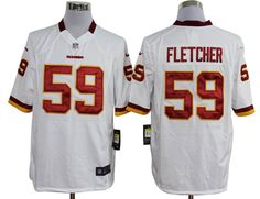 a9d44914f Nike NFL Game  59 White London Fletcher Washington Redskins Jersey  ID 971300964 23 Jason