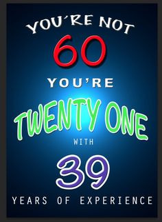 Great Birthday Wishes For Turning 60