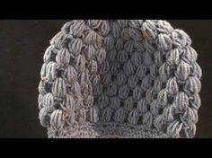 Crochet Geek - Free Instructions and Patterns: Puff Stitch Crochet Hat Made this already and it's SUPER easy and so cute! I added a little flower too. Puff Stitch Crochet, Crochet Geek, Knit Or Crochet, Crochet Crafts, Crochet Projects, Free Crochet, Slip Stitch, Single Crochet, Crochet Stitches